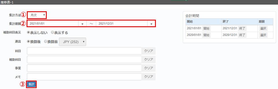 E02 推移表 1 - 集計表_推移表