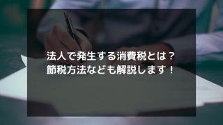 syukatsu daigaku icatchのコピー 8 320x180 - 法人で発生する消費税とは?節税方法なども解説します!