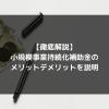 syukatsu daigaku icatchのコピー 6 1 100x100 - 【徹底解説】小規模事業持続化補助金のメリットデメリットを説明